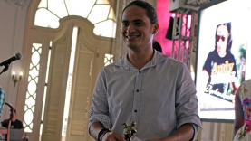 Andy Rubal, nominado en la categoría Música Bailable (Noveles) por El que busca encuentra.