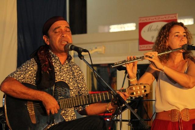 David-Alvarez durante su concierto en Romerias-2