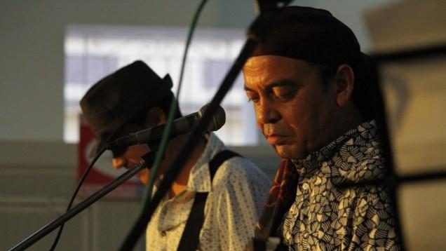 David-Alvarez durante su concierto en Romerias