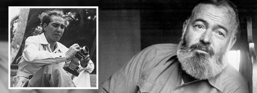 A cuatro manos: Ernest Hemingway y Enrique Serpa