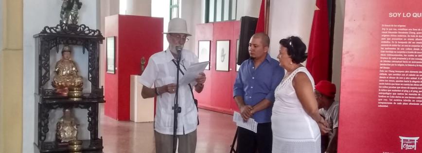 Un artista que entrecruza la cultura cubana y china