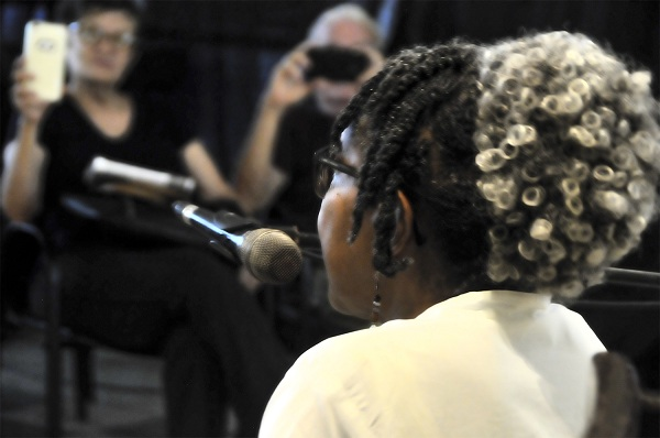 Gloria Rolando (Foto Madelín Ramírez Pérez)