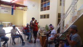 Ensayo del grupo Nubes en la Casa del Joven Creador, de Bayamo, para el concierto inaugural de la Fiesta de la Cubanía