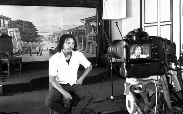 """Nelo González (Foto tomada de """"El Creador"""", una producción audiovisual con  Guión y Dirección: Enrique Fumero; Fotografía y Edición: Rubén Aja. AHS, 2019 )"""