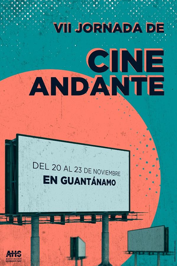 Cartel VII Jornada de Cine Andante