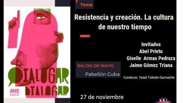 Resistencia y creación, Dialogar