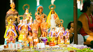 Sincretismo religioso cubano (Foto tomada de internet)