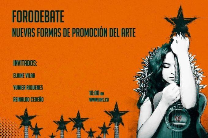 Forodebate Nuevas formas de promoción del arte (Jornada de la Canción Política)